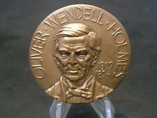 New listing Oliver Wendell Holmes Sr. Nyu Hall Of Fame Bronze Medal - Medallic Art Company