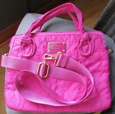 "Marc by Marc Jacobs 13"" Laptop Messenger Bag Pretty Nylon Pink NWD"