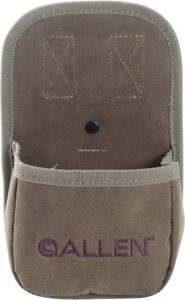 Allen Select Canvas Single Box Shotgun Shell Carrier Up To 12Ga Olive Green 2203