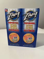 ZAP! Professional Restorer Cleaner Concentrate Twin Pack 10 Oz. Each NEW