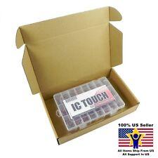 24value 2400pcs Ceramic Capacitor Disc 50V Assortment Box Kit US Seller KITB0054