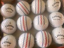 Callaway erc soft golf balls used 12