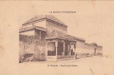 MAROC MOROCCO MEKNES 10 beylica du sultan écrite 1917