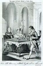 Carlo Felice di Savoia: re di Sardegna e duca di Savoia. Risorgimento. 1863