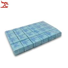Bulk Lot TreaChi 24pcs Blue Square Jewelry Ring Gift Cardboard Box Case Holder