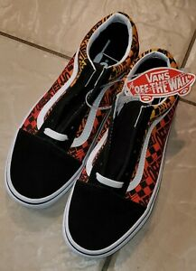 Vans Off The Wall Shoes Size 5.5 Youth New With Tags