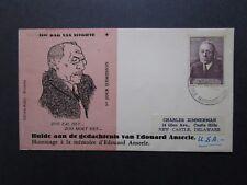 Belgium 1956 Anseele Issue FDC - Z7584