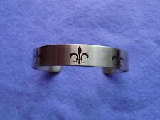 Magnetarmband/-armreif aus Edelstahl