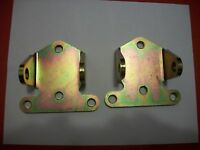 """SMALL BLOCK CHEVY SOLID STEEL MOTOR MOUNTS 1 PAIR, #561-62500 MOROSO 2 1/8"""" TALL"""