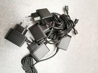 100 x Micro USB Data Charger Cable EU Plug - Samsung Galaxy S3 S4 S5 S6 S7 Bulk