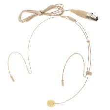 XLR 4 Pin Wired Headset Boom Mini XLR Undirectional Condenser Microphone