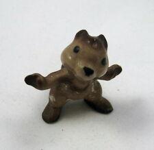Hagen Renaker miniature made in America Chipmunk arms open retired matt finish