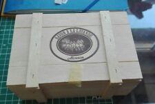 MOUSON Lavendel-sehr große Seife/BIG SOAP 370 g in Holzschachtel-Vintage-RARITÄT