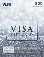 $50 GIFT CARD ACTIVATED. FREE SHIPPING! No Fees. IMMEDIATE USE SEE DESCRIPTION.