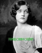 ADRIENNE AMES 8X10 Lab Photo 1920s Silent Era Glamour, Haunting Grace Portrait
