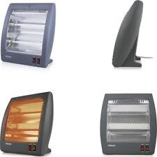 Estufa calefactor electrico de Cuarzo 800W Gris,antivuelco,temperatura regulable