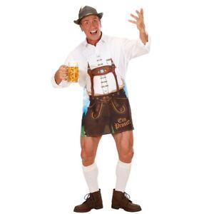 Grillschürze Bayernschürze Schürze Mann Lederhose Oktoberfest