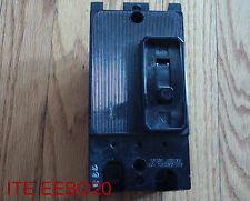 Ite Eebo20 Circuit Breaker 20 Amp 2 Pole 240 Volt Eebo20