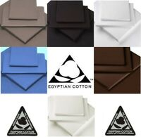 """100% EGYPTIAN COTTON 16"""" 40cm EXTRA DEEP Fitted Sheets"""
