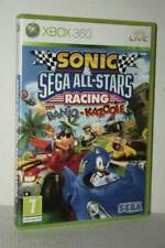 SONIC & SEGA ALL-STARS RACING CON BANJO-KAZOOIE USATO XBOX 360 ED ITA FR1 54700