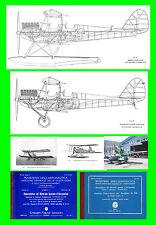 COLLECTION - CAPRONI Ca100 CAPRONCINO  AERONAUTICA AIRCRAFT Manual - DVD