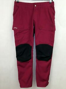 LUNDHAGS WOMENS BOOT LOOC SYSTEM PANTS FIELD WS PANTS size L EU-42 PINK