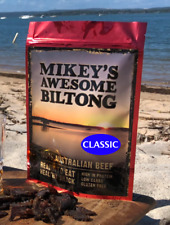 Mikeys Awesome Biltong - Classic Flavour 225grams