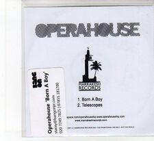 (FB14) Opera House, Born A Boy - 2007 DJ CD
