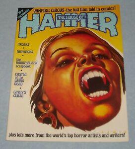 The HOUSE of HAMMER # 17 UK MONSTER MAGAZINE VAMPIRE CIRCUS FREAKS MUTATIONS