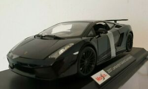 Maisto Lamborghini Gallardo Superleggera Diecast Model Sports Car Kids Toy 1:18