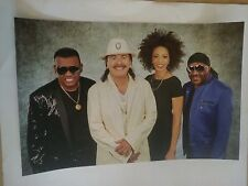 POSTER by CARLOS SANTANA power of peace isley brothers For the bands album cd *