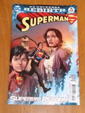 SUPERMAN #18 DC UNIVERSE REBIRTH VARIANT