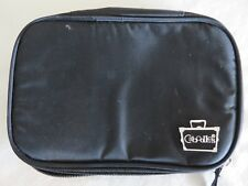 Caboodles Travel Make Up Case Brush Holder Black Zip Around  #8269
