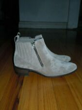 """PAUL GREEN """"NATALIE"""" TAUPE SUEDE BOOTIE NWOB SIZE 3.5UK (6US)"""