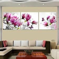 HD Canvas Print painting wall decor home art The Pink Magnolia flower(No Frame)