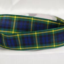 Berisfords Gordon Scottish Woven Tartan Ribbon 7mm - 40mm