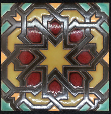Hand-Painted Spanish Revival Decorative Tiles Available in 6x6 & 5x5