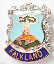 Falkland Fife Scotland Small Crest Pin Badge