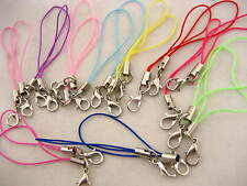 Small toy crafts MOBILE PHONE CORD LANYARD LOOPS WITH Jump rings Lobster Clasp