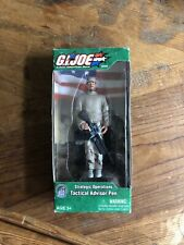 GI Joe Strategic Operations Tactical Advisor Pen Figure 2003 NIP RARE