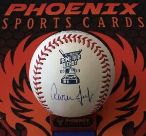 Aaron Judge Signed Auto Official 2017 HR Derby Baseball Fanatics MLB/Fanatics