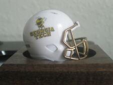 NCAA Georgia Tech Custom Speed Pocket Pro Helmet  Logo Yellow Jackets Mascot