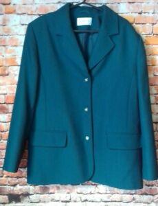 eastex green blazer size 14 armpit to armpit 20 inches