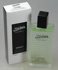 Jean Paul Gaultier Monsieur 100 ml Eau du Matin Spray Nuovo/Scatola Originale