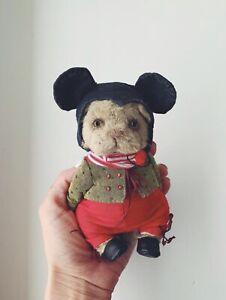 ooak artist handmade teddy bear Mickey Ears Cat