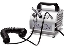 Iwata Studio Series Silver Jet AIRBRUSH Official compressor Iw-Silver