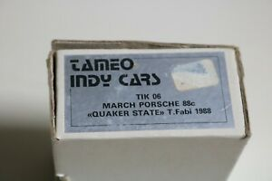 1/43 Indy Car 1988 Tameo Quaker State Porsche March 88C Metal Detailed Kit