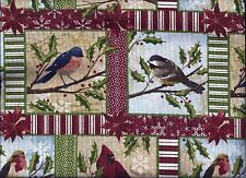 Christmas Valance Birds Patch curtain