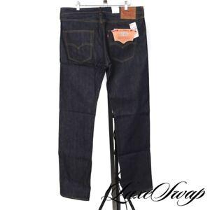 NWT Levis Made in USA Raw Stiff White Oak Cone Denim Selvedge Jeans 501 33 NR