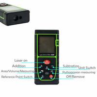 40m Telemetro Distanziometro Rangefinder Digitale Laser Misuratore di Distanza